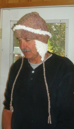 ear flap hats man Randy
